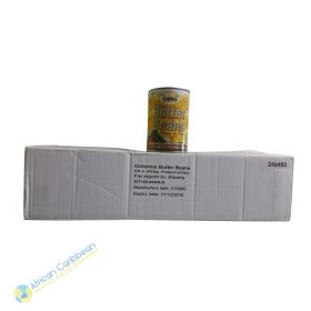 Box of Ocho Rios Butter Beans Plump & Firm, 18lbs 24 x 14oz
