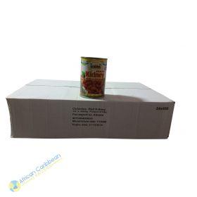 Box of Ocho Rios Red Kidney Beans, 18lbs 24 x 14oz