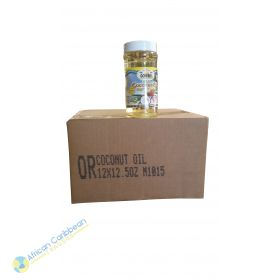 Box of Ocho Rios Rich Coconut Oil, 9.3lbs 12 x 12.5oz