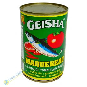 Geisha Mackerel Tomato Sauce, 15oz
