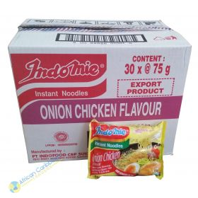 Indomie Onion Chicken Flavor Box, 6lbs, 30 x 2.65oz