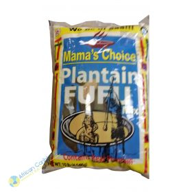 Mamas Choice Plantain Fufu, 10lbs