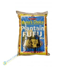 Mamas Choice Plantain Fufu Mix, 10lbs