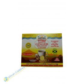 Ocho Rios Instant Tea Jamaican Ginger Cane Sugar, 6.3oz