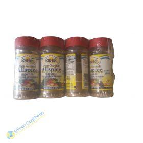 Ocho Rios Pure Ground Allspice, 2.44lbs 12 x 3.25oz