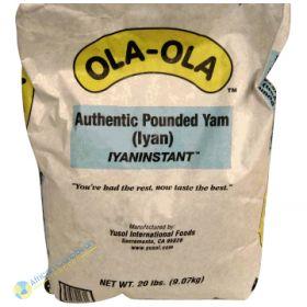 Ola-Ola Pounded Yam, 20 Ibs