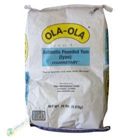 Ola-Ola Pounded Yam, 20 lbs