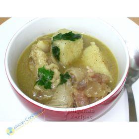 Nigeria Cowfoot Porridge (Yam Pepper Soup)