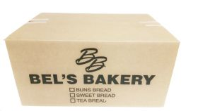 Box of Bel'S Bakery Bread Box (Ghana Bread), 12 X 15oz