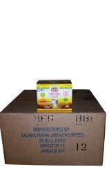 Box of Ocho Rios Instant Tea Jamaican Ginger Cane Sugar, 9.45lbs 24 x 6.3oz