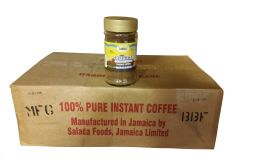 Box of Ocho Rios Jamaica Gourmet Blend Instant Coffee, 5.25lbs 24 x 3.5oz