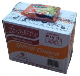 Indomie Special Chicken Flavor Box, 6lbs, 30 x 2.65oz