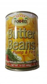 Ocho Rios Butter Beans Plump & Firm, 14oz