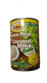 Ocho Rios Green Pigeon Peas With Coconut Milk, 15oz