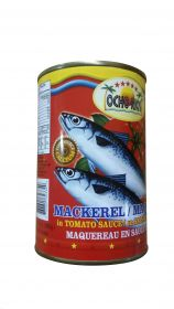 Ocho Rios Mackerel In Tomato Sauce, 15oz
