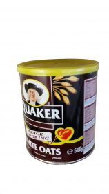 Quaker White Oats, 17.6oz